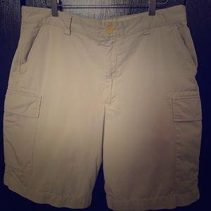 Mens Nautical Ecplorer Loose Fit Cargo Shorts